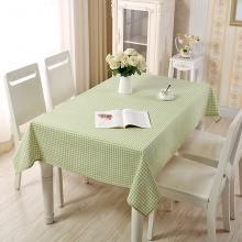 Khăn trải bàn caro xanh lá 1 KB30