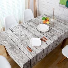 Khăn trải bàn vân gỗ lớn KB27