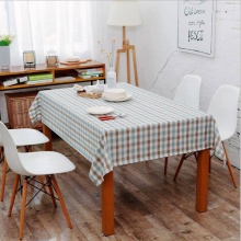 Khăn trải bàn sọc caro nhiều màu lớn KB23