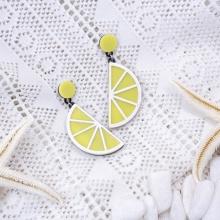 Bông tai hàn quốc lemon - Tatiana - Bh2905 (vàng)
