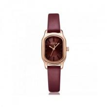 Đồng hồ nữ Julius Hàn Quốc JA-1112E dây da