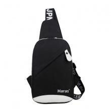 Túi đeo chéo cá tính Haras HRS083 (đen)