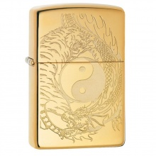 Bật lửa Zippo Tiger and Dragon Design 49024