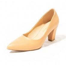 Giày cao gót thời trang mũi nhọn đế vuông cao 7cm Erosska basic - EP001 (OR)