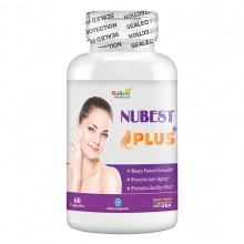 Thực phẩm bảo vệ sức khỏe hỗ trợ sáng da, chống lão hóa của Mỹ NuBest Plus - hộp 60 viên