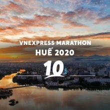 Vé Vnexpress Marathon Huế 2020 - cự ly 10KM