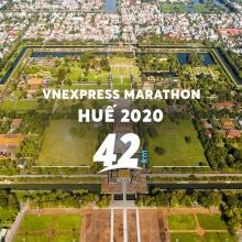 Vé Vnexpress Marathon Huế 2020- cự ly 42KM