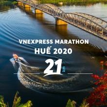 Vé Vnexpress Marathon Huế 2020 - cự ly 21KM