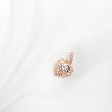 Mặt dây chuyền vàng hồng đính đá DOJI 14K 0819R-LAL426