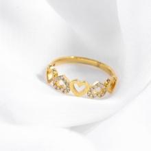 Nhẫn vàng DOJI cao cấp 14K 0819R-LAL024
