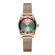 Đồng hồ nữ Julius Hàn Quốc JA-999 dây thép mặt đa sắc