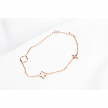 Lắc tay vàng hồng DOJI 14K 0819B-LAL101