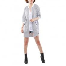 Áo khoác kaki nữ dáng dài Hàn Quốc Orange Factory -EQF0L342-WSB