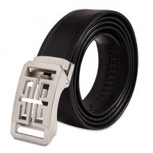 Dây nịt nam – thắt lưng nam Sam Leather SFDN005WBT dây nịt da bò thật đầu khóa inox nguyên khối hàng chính hãng