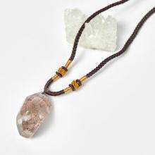 Mặt dây chuyền thạch anh ưu linh 21x42.2mm - Ngọc Quý Gemstones