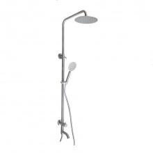 Cây sen tắm đứng lạnh Inox SUS 304 Eurolife EL-SCL01 (trắng vàng)