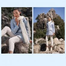 Áo jacket 3 lớp xanh nhạt HeraDG - WJK19008