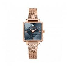 Đồng hồ nữ ja-1220d Julius hàn quốc dây thép đồng xanh đen