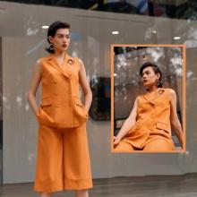 Áo khoác tuýt xi màu cam HeraDG - WT19030A