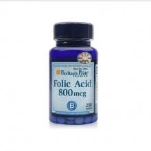 Viên uống ngăn ngừa thiếu máu Folic Acid 800mcg 250 viên của Puritan's Pride