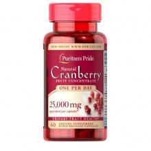 Viên uống ngừa viêm tiết niệu, tiểu đêm, tiểu dắt, hỗ trợ tim mạch quả việt quất Cranberry Puritan's Pride 60 viên