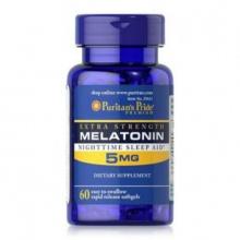 Melatonin giúp ngủ ngon - Extra Strength Melatonin 60 viên Puritan's Pride