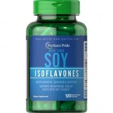 Tinh chất mầm đậu nành (tương) làm đẹp và bổ sung estrogen nội tiết nữ Puritan's Pride Soy Isoflavones 120 viên, 750mg DATE T10/2020