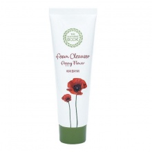 Sữa rửa mặt - Foam Cleanser Poppy Flower 120ml - The Nature Book