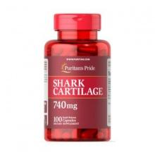 Sụn vi cá mập bổ xương khớp tăng cường dịch khớp Shark cartilage 100 viên Puritan's Pride