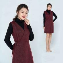 Đầm liền dạ màu đỏ HeraDG - WDC18100