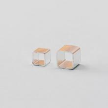 Charm bạc hình vuông 4x4mm - Ngọc Quý Gemstones