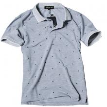 Áo phông nam có cổ polo có họa tiết chấm bi Dokafashion - SBT101