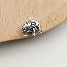 Charm bạc hình con voi treo 13.5x16.5mm - Ngọc Quý Gemstones