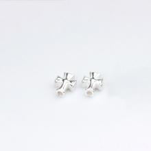 Charm bạc trắng thánh giá sỏ ngang 9.5x7.5x4mm- Ngọc Quý Gemstones