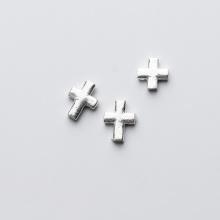 Thánh giá xỏ ngang 8x10x2mm - Ngọc Quý Gemstones