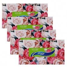 Combo 4 hộp khăn giấy Hensley hộp 200 tờ
