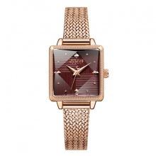Đồng hồ nữ ja-1220c Julius hàn quốc dây thép đồng đỏ
