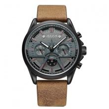 Đồng hồ nam Julius Hàn Quốc JAH-106 dây da lộn