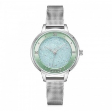 Đồng hồ nữ Julius Hàn Quốc JA-1216 dây thép mặt đính đá