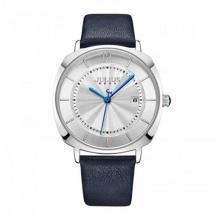 Đồng hồ nữ dây da chính hãng Julius Hàn Quốc JA-1190LA xanh đen