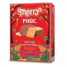 Bánh quy thập cẩm Merry Phúc HG 420g