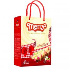 Bánh quế Merry thập cẩm 302g (Vani, dưa lưới)