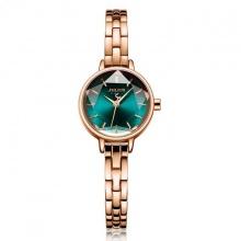 Đồng hồ nữ chính hãng Julius Hàn Quốc JA-1162C (đồng xanh) mặt cắt ngôi sao