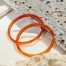 Combo 2 vòng tay đá mã não đỏ mảnh mệnh hỏa thổ - Ngọc Quý Gemstones