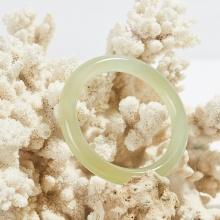 Vòng tay đá mã não vàng thiên nhiên bản tròn dày 10mm mệnh kim thủy - Ngọc Quý Gemstones