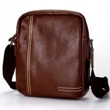 Túi da đeo chéo thời trang 4U D298 - nâu