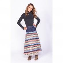 Váy maxi họa tiết thổ cẩm Savage Culture SC35571-PR