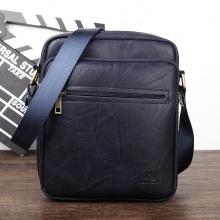 Túi đeo chéo da thời trang 4U D303 - xanh dương