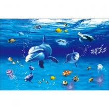 Tranh dán tường 3D đại dương DD99
