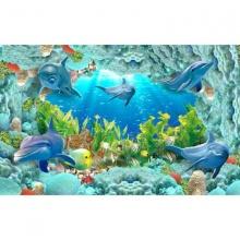 Tranh dán tường 3d đại dương DD98